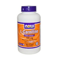 Ниски цени на Now Foods L-Carnitine 500mg