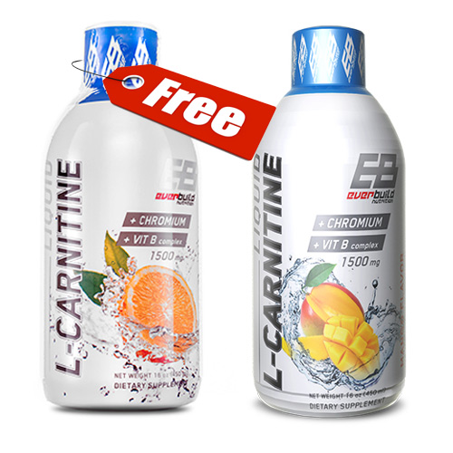 EverBuild Liquid L-Carnitine + Chromium 1500mg