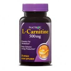 Най-добри л карнитин цени и начин на прием на Natrol L-Carnitine 500mg