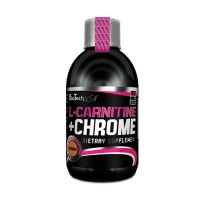 Ниски цени на BioTech USA L-Carnitine Liquid with Chrome