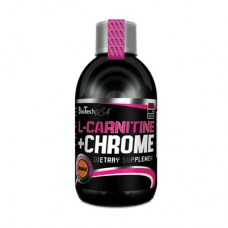 Най-добра цена на BioTech USA L-Carnitine Liquid with Chrome