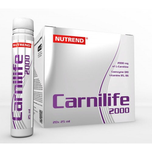 Nutrend Carnilife 2000 L-Carnitine liquid Ampoules