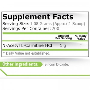 Pure Nutrition Acetyl-L-Carnitine
