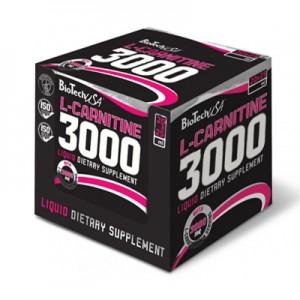 BioTech USA L-Carnitine 3000 Ampoules