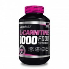 Най-добри л карнитин цени и начин на прием на BioTech USA L-Carnitine 1000 mg