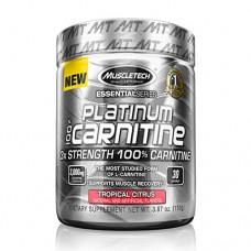 Най-добри л карнитин цени и начин на прием на Muscletech Essential Series Platinum 100% Carnitine